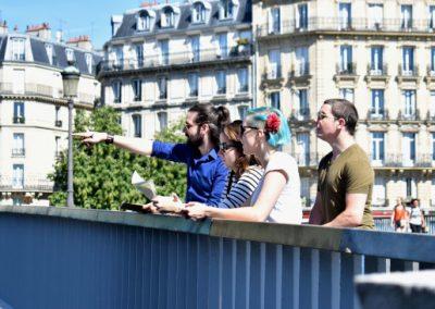 Jeu de piste live city game à Paris